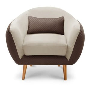 Fotel Meteore Brown/Cream