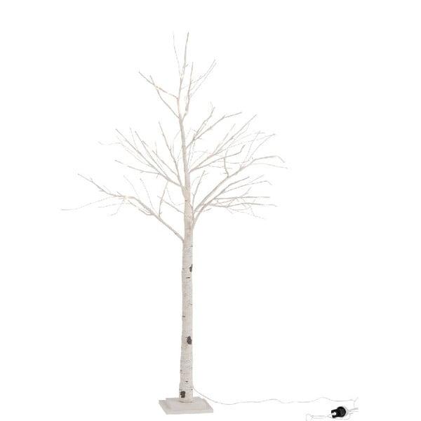 Świecące papierowe drzewko LED J-Line Birch, wysokość 160 cm