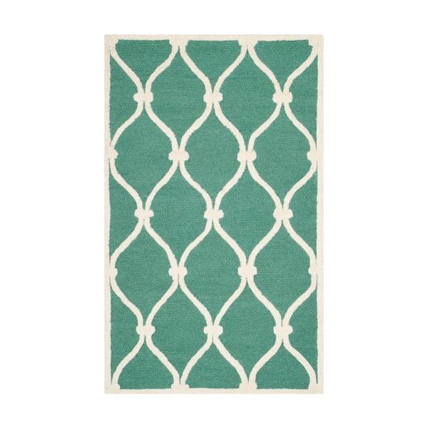 Wełniany dywan Hugo, 91x152 cm