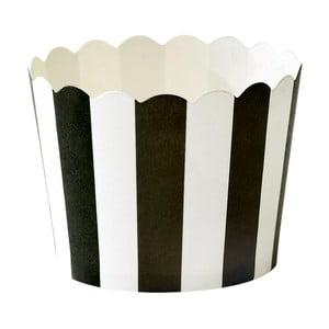 Zestaw 24 papilotek na muffiny Miss Étoile Stripe