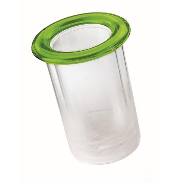 Zielony pojemnik termiczny na butelki Fratelli Guzzini Mimi