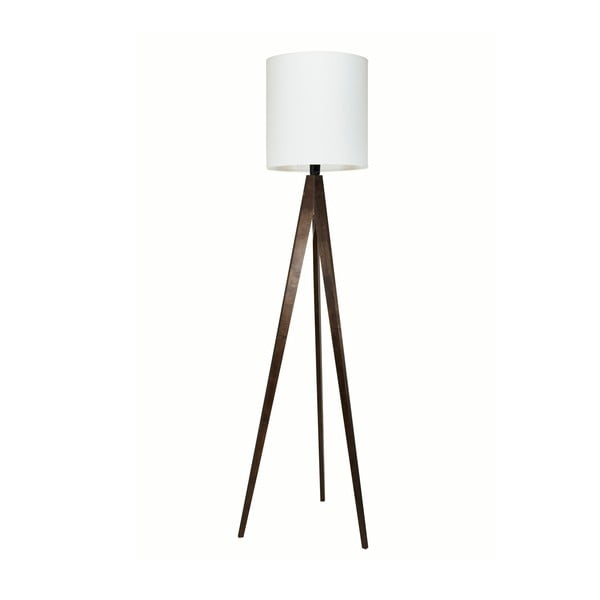 Lampa stojąca Artist White/Brown, 150x33 cm