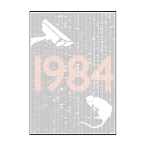 "Plakat ""Rok 1984"", 70x100 cm"