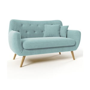 Niebieska sofa dwuosobowa Wintech Lagos Awilla
