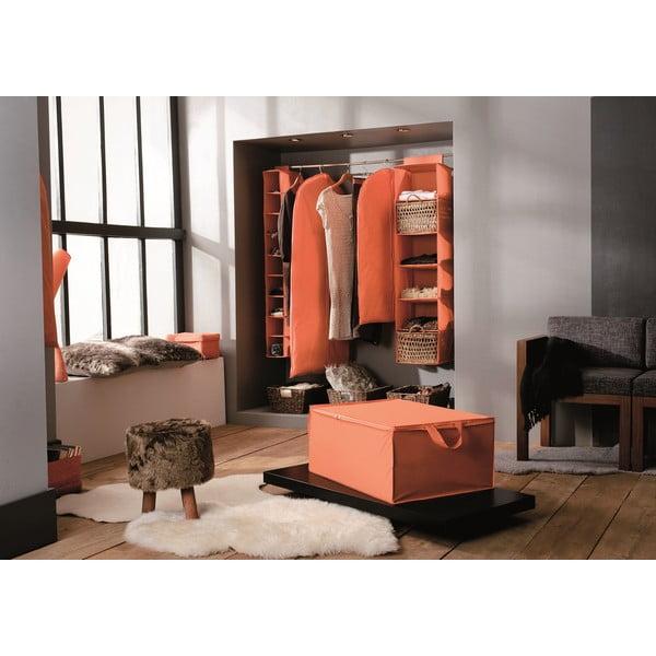 Materiałowy pojemnik Orange, 70x50 cm