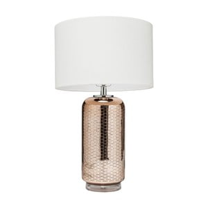 Lampa stołowa w złotej barwie Kare Design Cosmos
