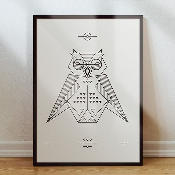 Plakat Black/White, 50x70 cm