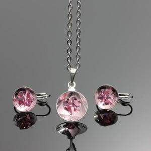 Komplet Swarovski Elements Bijouterie Rosa