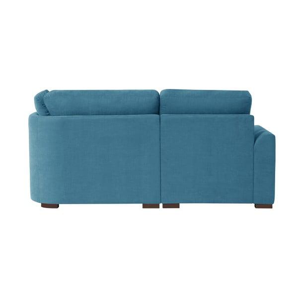 Sofa narożna Jalouse Maison Irina, lewy róg, niebieska