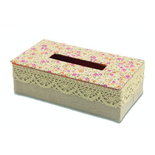 Pudełko na chusteczki Flora Arancia