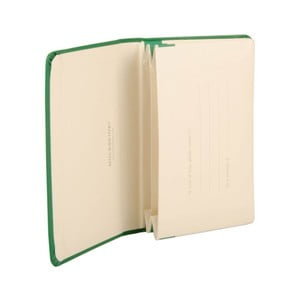 Zielone portfolio Moleskine XS