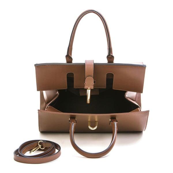 Skórzana torebka Markese 5156 Brown