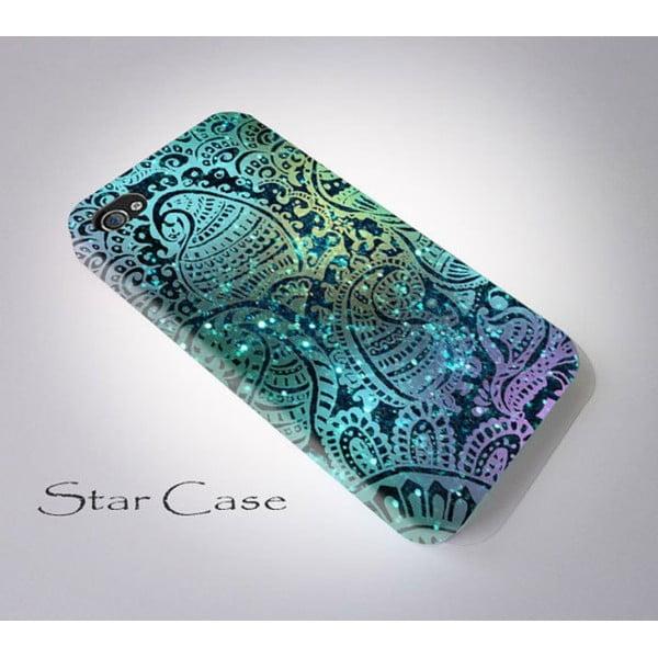 Etui na iPhone 4/4S Glitter Blue