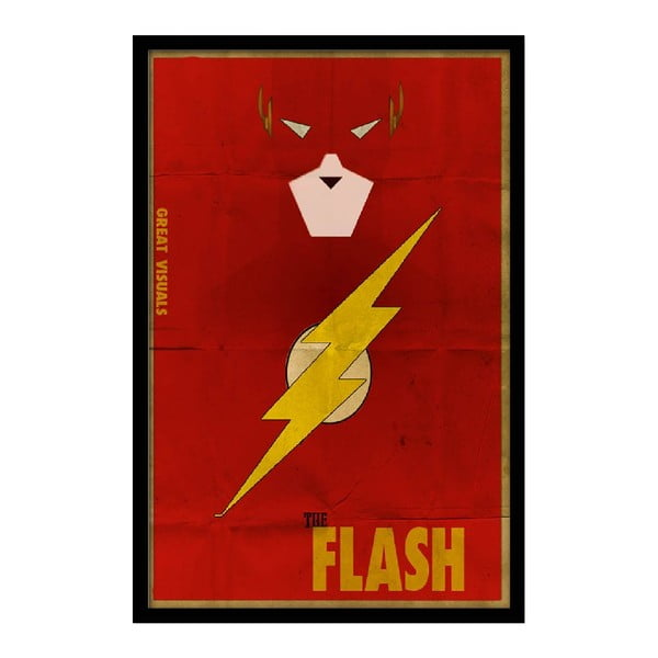 Plakat The Flash, 35x30 cm