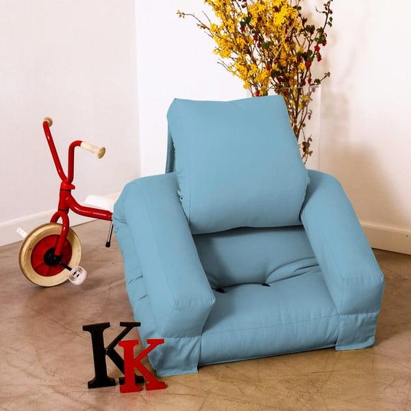 Fotel dziecięcy Karup Baby Hippo Celeste