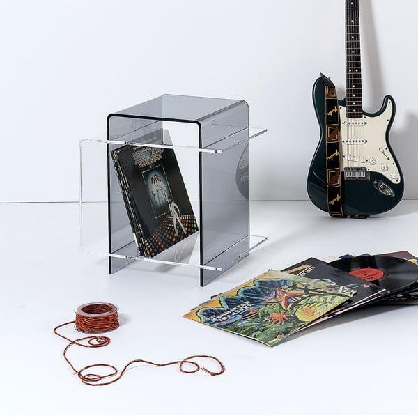 Stolik 70's Transparent&Fume
