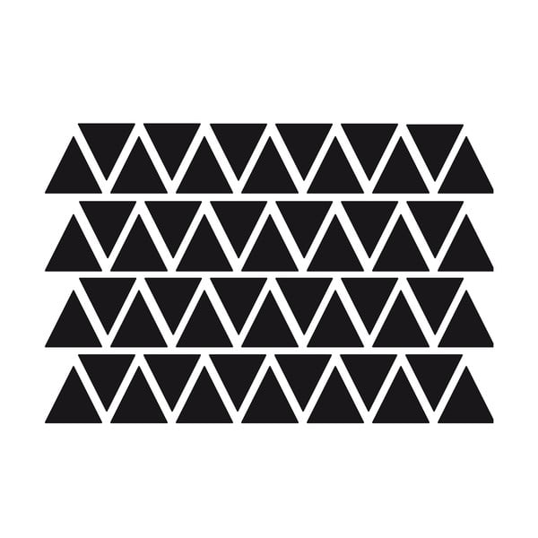 Zestaw 50 naklejek Ambiance Triangles