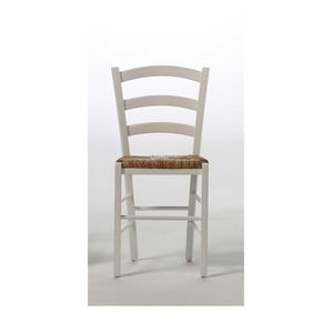 Białe krzesło z drewna sosnowego SOB Palerma