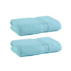 Zestaw 2 ręczników Indulgence Victoria Sky, 41x71 cm