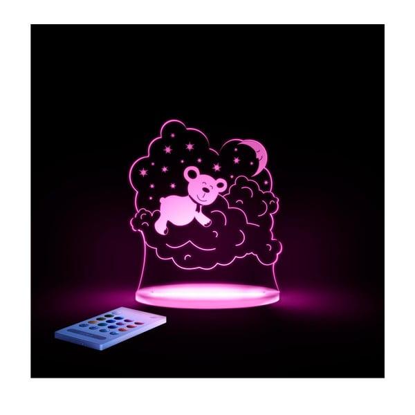 Dziecięca lampa nocna LED Aloka Miś