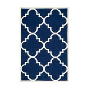 Niebieski dywan wełniany Safavieh Alameda, 152x243cm