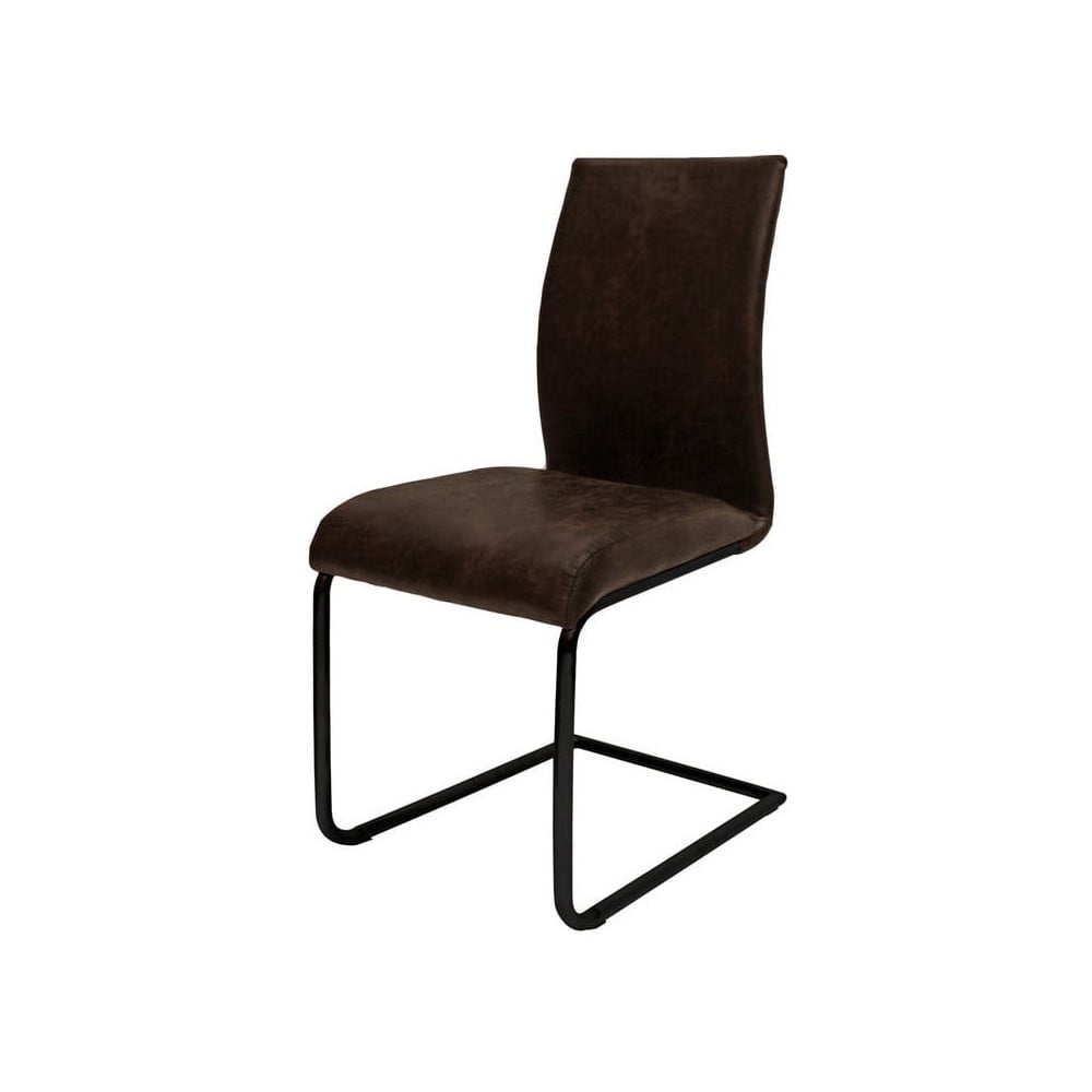Ciemnobrązowe krzesło Canett Clipper Cindy