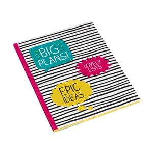 Duży zeszyt Big Plans