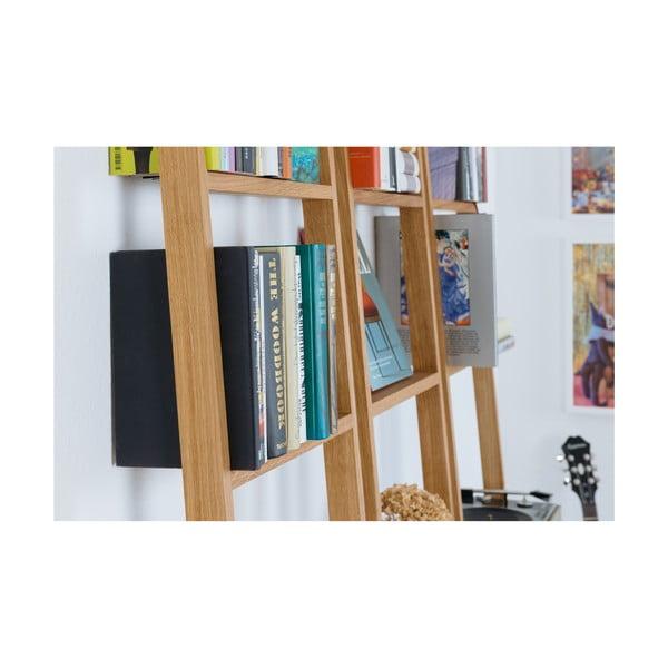 rega z drewna d bowego das kleine b brecht 3 45x217 cm. Black Bedroom Furniture Sets. Home Design Ideas