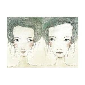 Plakat autorski: Léna Brauner Siostry, 44x60 cm
