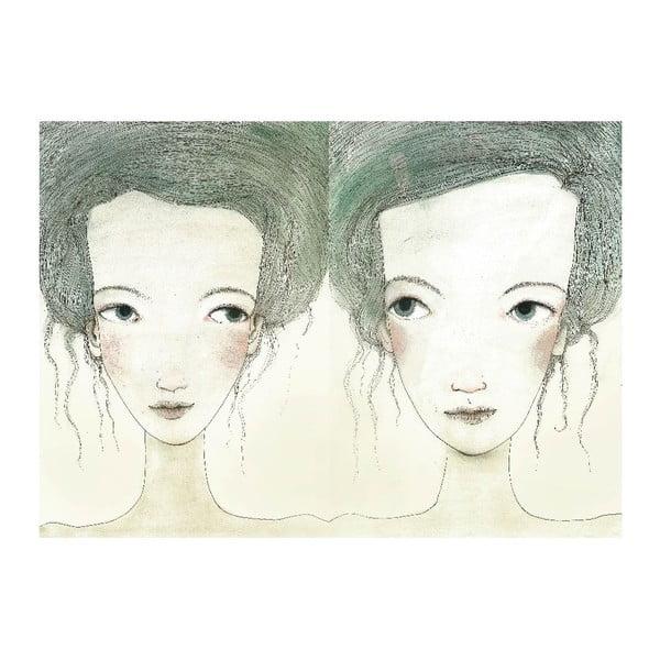 Plakat autorski: Léna Brauner Siostry, 60x81 cm