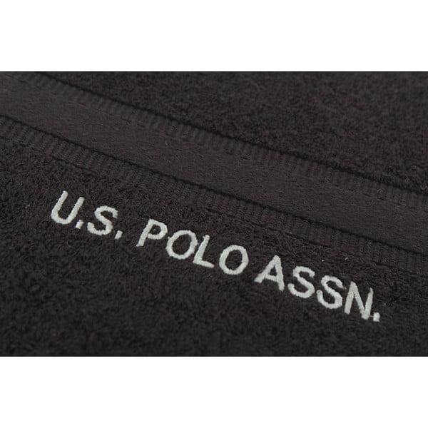 Ręcznik US Polo Towel Black, 70x140 cm