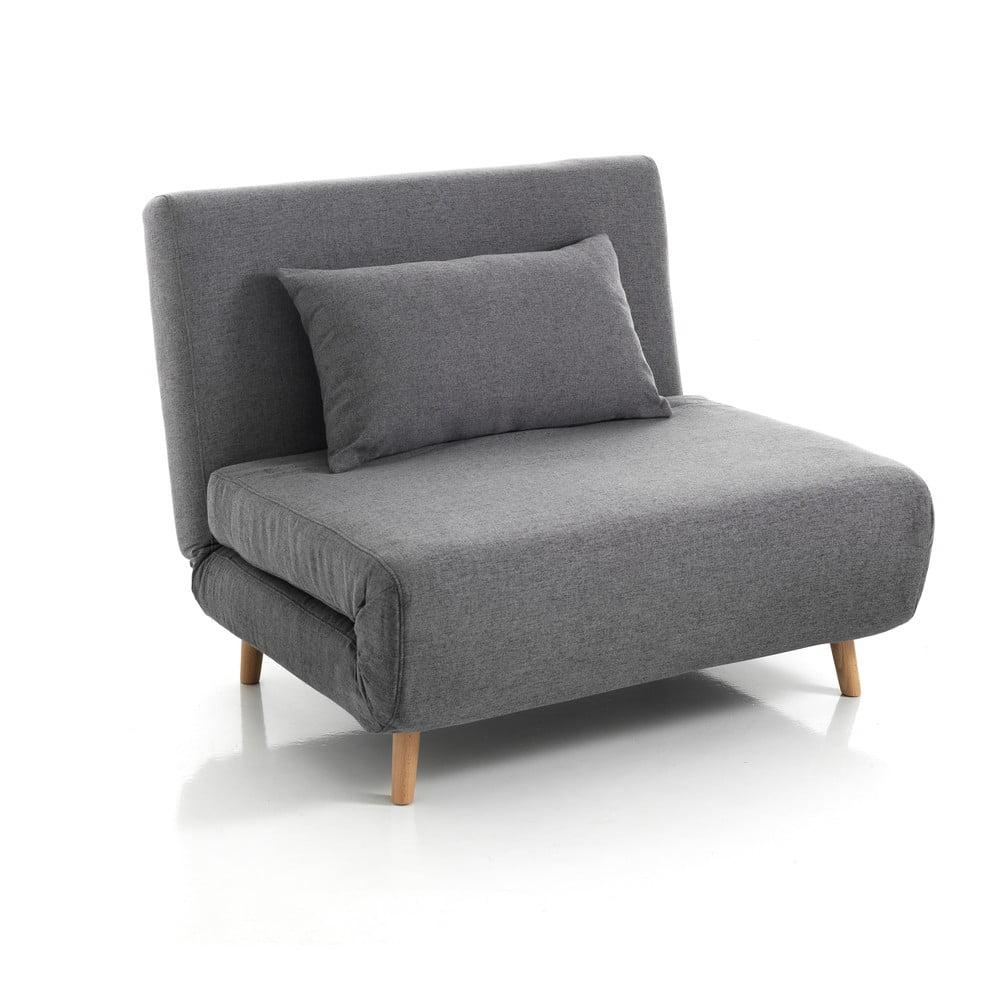 Szary rozkładany fotel Tomasucci Shift
