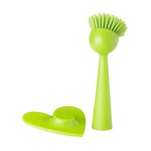 Szczotka do mycia naczyń Vigar Wash Green