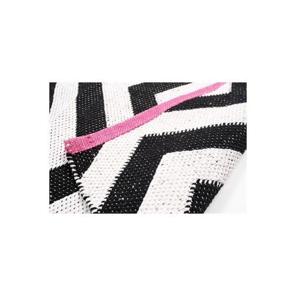 Dywan Pink B&W, 60x90 cm