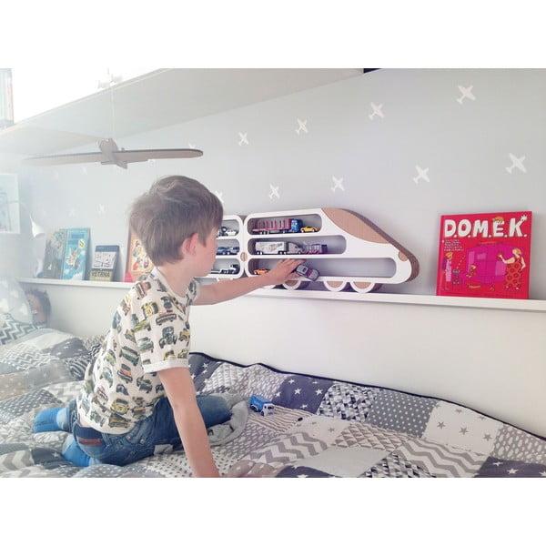 Zestaw 3 półek Unlimited Design For Children Lokomotywa i 2 wagony