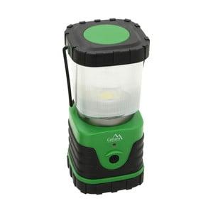 Zielona lampa kempingowa LED Cattara Camping