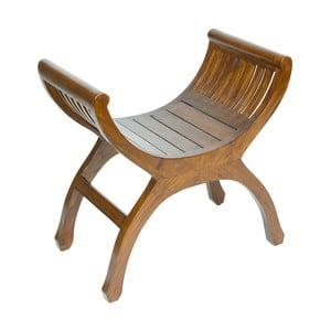 Krzesło nożycowe z drewna mindi Santiago Pons Yuyu