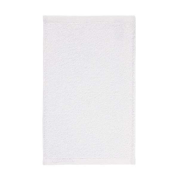 Biały ręcznik Aquanova London, 30x50 cm