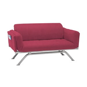 Fioletowa rozkładana sofa trzyosobowa 13Casa Kargo