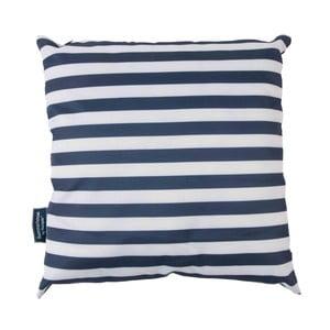 Ciemnoniebieska poduszka w paski Navigate