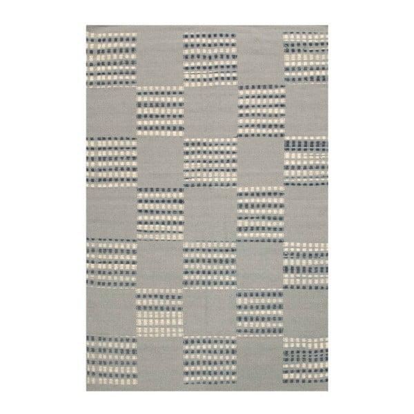 Wełniany dywan Kilim Chess Box, 140x200 cm
