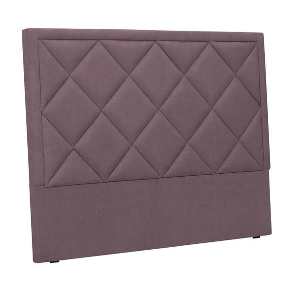 Fioletowy zagłówek łóżka Windsor & Co Sofas Superb, 180x120 cm