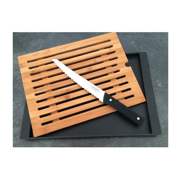 Deska i nóż do krojenia chleba Jean Dubost