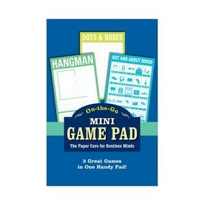 Zestaw 3 gier na papierze On-The-Go