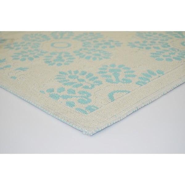 Niebieski wytrzymały dywan Penelope, 80x150 cm