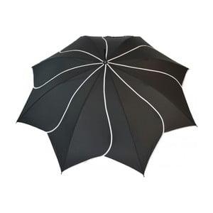 Parasolka Classic Swirl, czarna