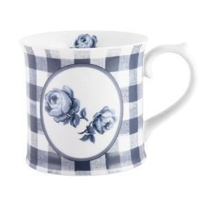 Kubek porcelanowy Creative Tops Gingham Floral, 400 ml
