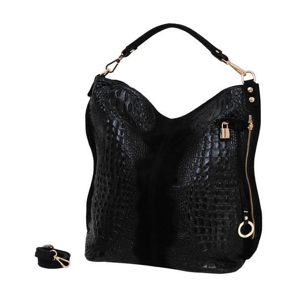 Czarna torebka skórzana Andrea Cardone Edvige