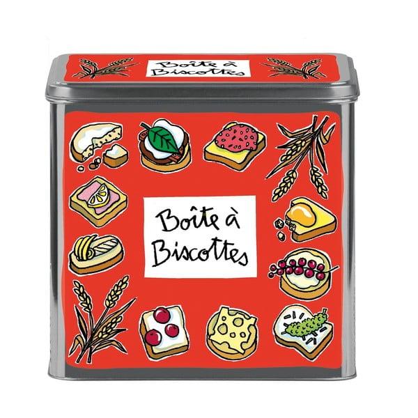 Pojemnik na ciastka Biscottes, rouge