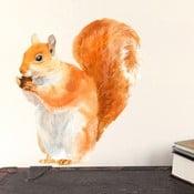 Naklejka wielokrotnego użytku Red Squirrel Mini, 30x21 cm